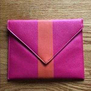 Handbags - Clutch- pink and orange